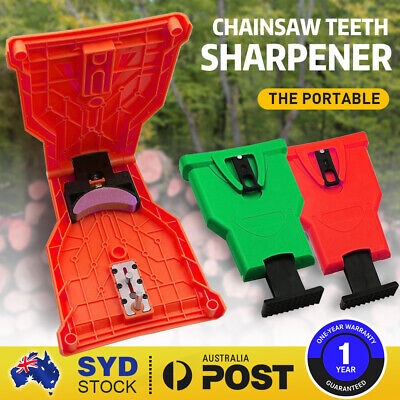 Woodworking Chainsaw Tool Teeth Sharpener Self Sharpening Grinding Chain NEW