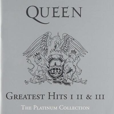 Queen The Platinum Collection Greatest Hits I II III Audio CD Box Set Albums New