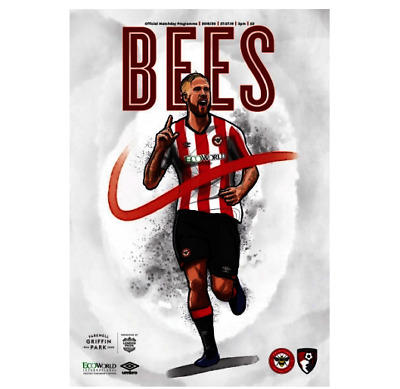Brentford Bournemouth Official 2019 Pre Season Friendly Programme