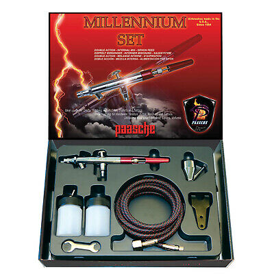 Paasche Suction Feed Action Airbrush - Millennium Set(0.73Mm)