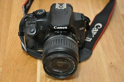 Canon EOS 1000D DSLR Camera 18-55 EFS Lens Error 99 Spares and repairs.