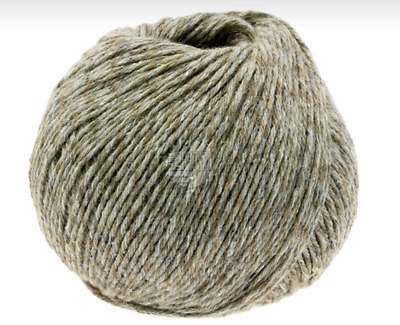 (€15,90/100g) Mary's Tweed  Lana Grossa 50g  Farbe 002 Taupe meliert