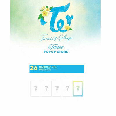 TWICE POP UP STORE [ TWAII'S SHOP ] Twice Official MD Trading Card Set(5ea)