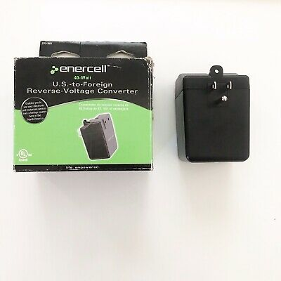 Enercell 40 Watt US TO Foreign Reverse Voltage Converter #273-360 New