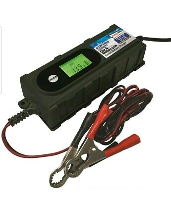 Streetwize Car And Motorcycle 4Amp 6/12V smart battery charger