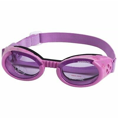 SUNGLASSES FOR DOGS by Doggles - LILAC FRAME WITH PURPLE LENS - EXTRA SMALL