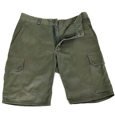 Genuine French army shorts O.D F2 Olive Military combat field bermuda BDU