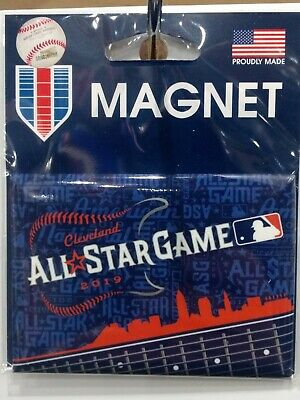 "2019 Mlb All Star Game Rectangle Magnet 2.5""X3.5"" Officially Licensed Usa Seller"