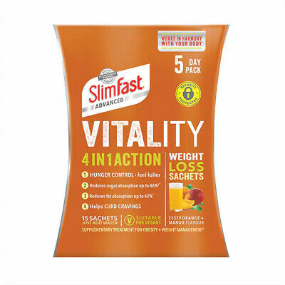 SlimFast Advanced 4 in 1 Action Weight Loss Sachets 5 Days