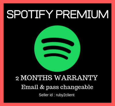 Spotify Premium 60 Days 2 Months 100% PRIVATE Instant Delivery Worldwide