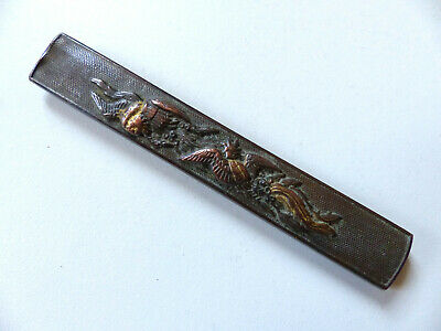 ANTIQUE 19th CENTURY KOZUKA JAPANESE EDO ANTIQUE FOR KOSHIRAE (6)
