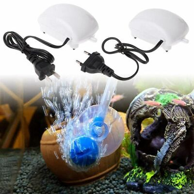 Ultra Low Noise Aquarium Air Pump Fish Tank Mini Air Compressor Oxygen Pump SALE