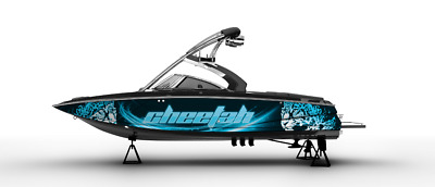 Wrap Graphic Kit Decal Boat Speedster Seadoo Wakeboard Sportster Cheetah