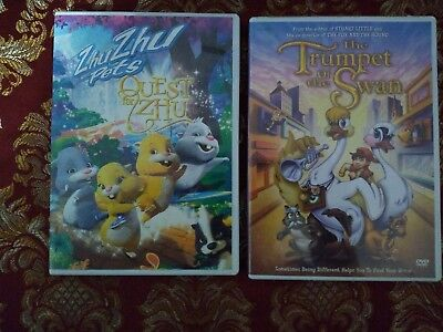 QUEST for ZHU &The Trumpet of the Swan DVD