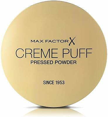3 x Max Factor Creme Puff Face Powder 21g New & Sealed - Various Shades