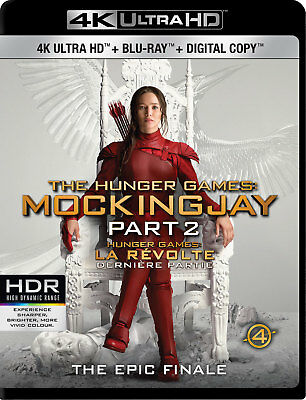 The Hunger Games: Mockingjay Part 2 [4K+Blu-ray] New and Factory Sealed!!