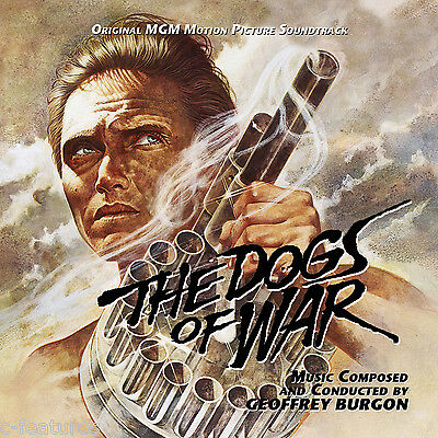 DOGS OF WAR Geoffrey Burgon CD La-La Land Ltd Ed SCORE Soundtrack NEW SEALED!