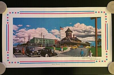 Vintage 1975 America's Bicentennial Poster United States of America