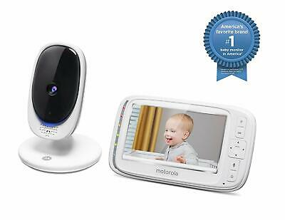 "Motorola Comfort 50 Video Baby Monitor w/ 5"" Color Display Digital Zoom & More"