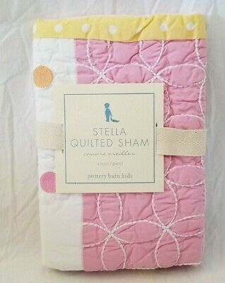 Pottery Barn Kids Stella Quilted Small Sham NIP