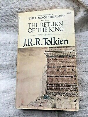 The Return of the King by JRR Tolkien (1973) BK