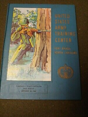 Fort Bragg NC US Army Basic Training Yearbook Co C 4th Battalion September 1968