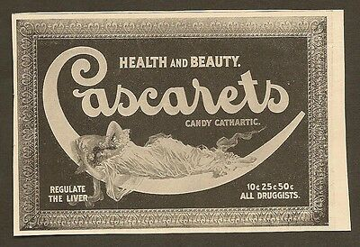 Vintage Ad For Cascarets Candy Cathartic For The Liver