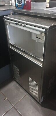 Under Counter Ice Maker Commercial Ice Machine works perfectly