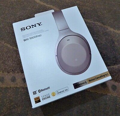 Sony WH1000XM2 Wireless Noise Cancelling Headphones - GOLD