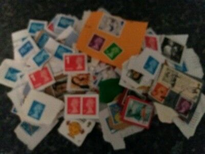 Genuine kiloware stamps ** Direct from charity ** loose paper 0.972 kg
