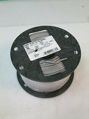 500 ft Gray Single Conductor Electrical Wire 14 Gauge Stranded THHN CU Conductor
