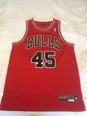 Air Jordan Vgc Chicago Jersey Michael Basketball Nike Nba Bulls 5AL4jR