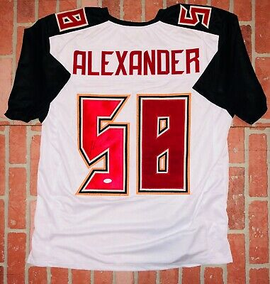 best sneakers 0e57c 7342b KWON ALEXANDER AUTOGRAPHED Signed Tampa Bay Buccaneers ...