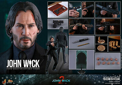 Hot Toys John Wick Chapter 2 1/6 Scale Action Figure MMS504 NEW SEALED PREORDER
