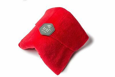 TRTL - Super Soft Neck Support Travel Pillow - Red - SHIPS FAST!