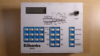 Eubanks 9200 Wire Stripper Control Panel Keypad Assembly N8