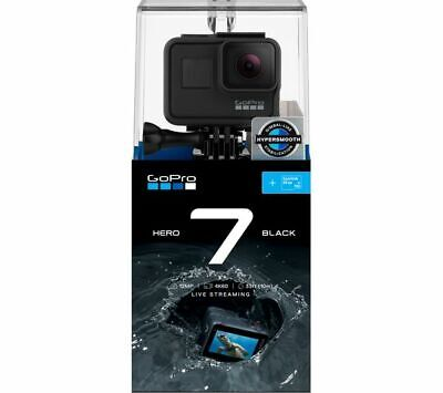 GoPro Hero7 Waterproof 4K Digital Action Camera with LCD Touch Screen - Black