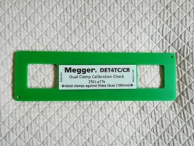 Megger Dual Clamp Calibration Check DET4TC/CR