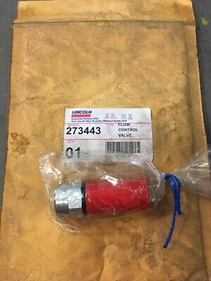 Lincoln 273443 Flow Control Valve