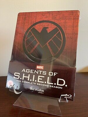 Marvel Agents of SHIELD Complete Second Season 2 Steelbook (Blu-ray) Sealed