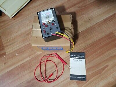 ELECTRONIC MEASUREMENTS CORP EMC Model # 212 w/ original box & manual