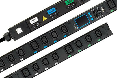 24 outlet, P5-1H0A1 - Vertical PDU Switched 200-240V Single Phase C13 Outlets