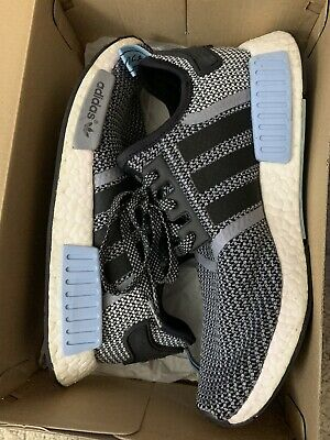 timeless design c578b 0a989 PRE-OWNED ADIDAS NMD_R1 Clear Blue S79159 Size 9 100% Authentic