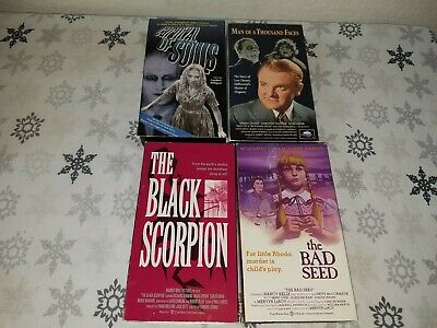 LOT OF 25 VHS Tape Movies RARE OOP Horror Scifi Cult Comedy