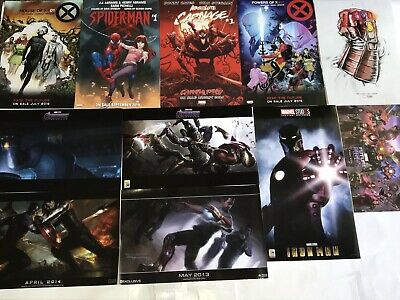 SDCC 2019 Avengers Final Battle Promo Posters Carnage Spider-Man 10 Years