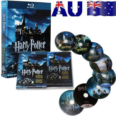 Harry Potter DVD 1-8 Movie Complete Collection Films Box Set New Sealed