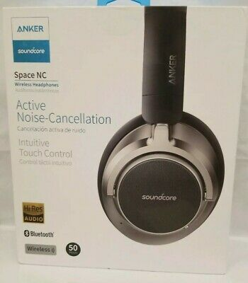 Anker Soundcore Space NC Wireless Noise Cancelling Headphones - Black NEW SEALED