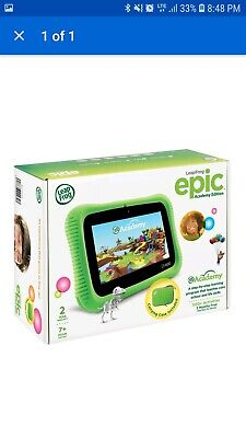 LEAP FROG EPIC Academy Edition Learning Tablet Green with Activation