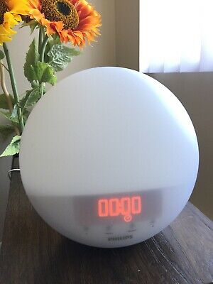 Philips HF3510 Wake-Up Light Sunrise Simulation White