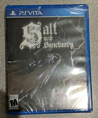 ***Salt and Sanctuary (PS Vita) Limited Run #167 Brand New Sealed With Card***